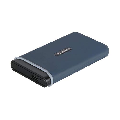 Transcend Information 480GB Portable SSD TLC USB 3.1 Gen 2, Navy Blue (TS480GESD350C)