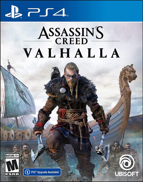 Assassin's Creed Valhalla PlayStation 4 Standard Edition with free upgrade to the digital PS5