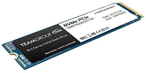 TEAMGROUP MP33 256GB 3D NAND TLC NVMe 1.3 PCIe Gen3x4 M.2 2280 Internal Solid State Drive SSD (Read/Write Speed up to 1,600/1,000 MB/s) Compatible with Laptop & PC Desktop TM8FP6256G0C101