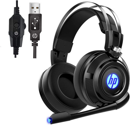 HP H500GS USB PC Gaming Headset with Microphone. 7.1