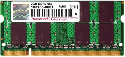 TRANSCEND DDR2 667 SODIMM 2GB TS256MSQ64V6U