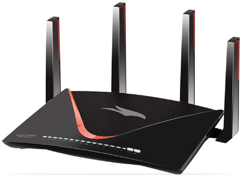 NETGEAR Nighthawk Pro Gaming XR700 WiFi Router with 6 Ethernet Ports and Wireless Speeds Up to 7.2 Gbps, AD7200, Tri Band Optimized For The Lowest Ping
