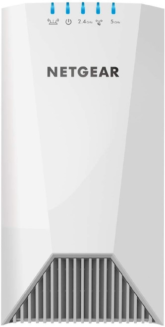 NETGEAR Wifi Mesh Range Extender EX7500 - Coverage up to 2000 sq.ft. and 40 devices with AC2200 Tri-Band Wireless Signal Booster/Repeater (up to 2200Mbps), plus Mesh Smart Roaming with UK Plug