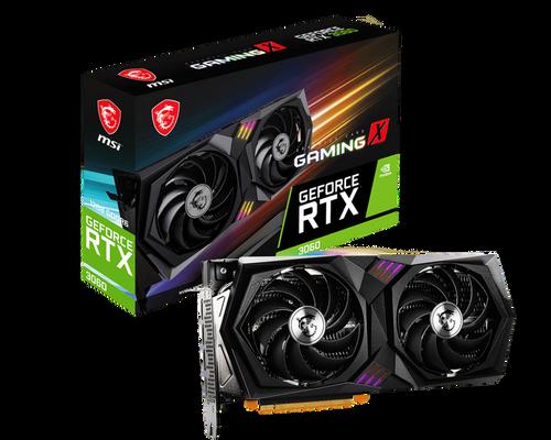 MSI GeForce RTX 3060 GAMING X 12GB (2 Years Warranty)