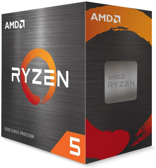 Ryzen 5 5600X 6-core, 12-Thread Unlocked Desktop Processor with Wraith Stealth Cooler (Sold as Bundle with Motherboard or Computer set)