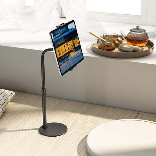 Mono Design Flexible Gooseneck XL Tablet Stand with Apple Pencil Holder