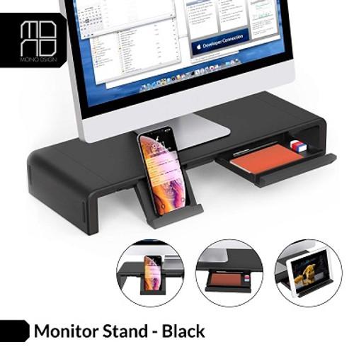 Mono Design Monitor Stand Black