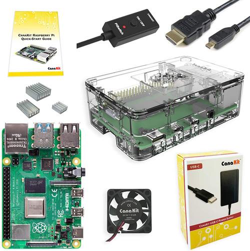 CanaKit Raspberry Pi 4 Basic Kit