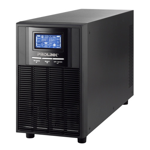 PROLiNK 2KVA / 1600W Online UPS with AVR Pure Sine Wave PRO902WS