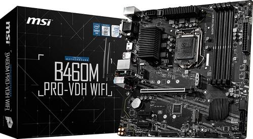 MSI B460M PRO-VDH WiFi ProSeries Motherboard