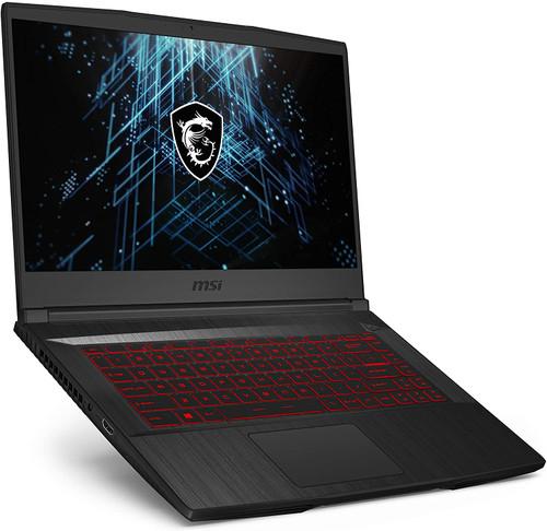 "GF65 Thin 10UE-091 15.6"" 144Hz 3ms Gaming Laptop Intel Core i7-10750H RTX3060 8GB 512GB NVMe SSD Win10"