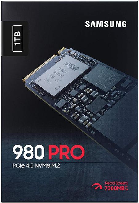 SAMSUNG 980 PRO 1TB PCIe NVMe Gen4 Internal Gaming SSD M.2