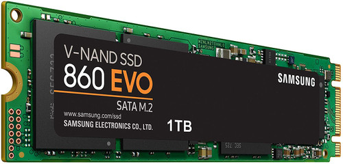Samsung 860 EVO SSD 1TB - M.2 SATA Internal Solid State Drive with V-NAND Technology