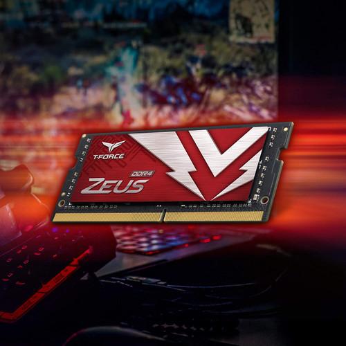 TEAMGROUP T-Force Zeus DDR4 SODIMM 8GB 2666MHz (PC4-21300) 260 Pin CL16 Laptop Memory Module Ram - TTZD416G2666HC19DC-S01