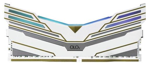 OLOy DDR4 RAM 8GB Warhawk Aura Sync RGB 3600 MHz CL18 1.35V 288-Pin Desktop Gaming UDIMM (MD4U0836181BCWDA)
