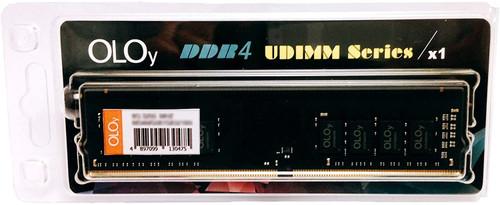 OLOy DDR4 RAM 8GB 2400 MHz CL17 1.2V 288-Pin Desktop Gaming UDIMM for Intel (MD4U082417IFSB)