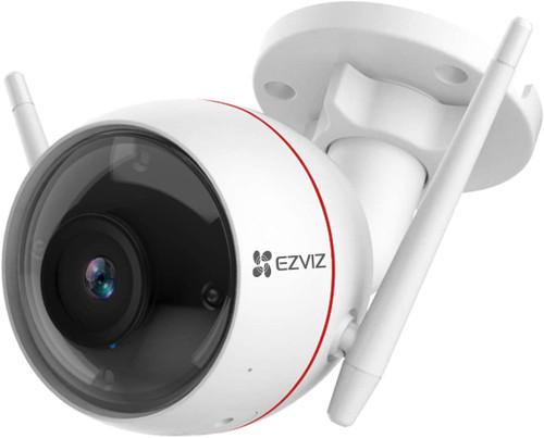 Ezviz C3W 4MP 1080P Pro Smart Outdoor Camera with Colour Night Vision, AI Human Detection, Alarm & Strobe CS-C3W-A0-3H2WFL