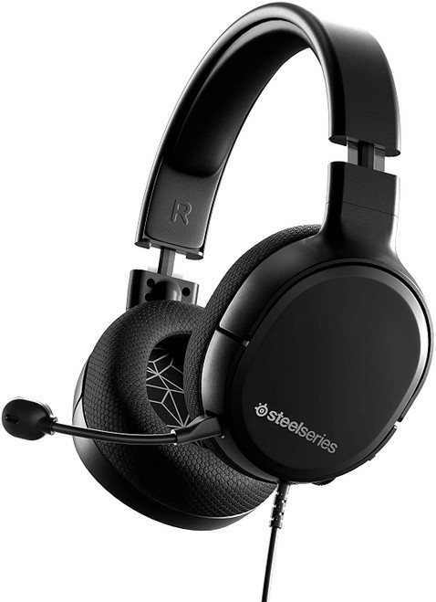 SteelSeries Arctis 1 Wired Gaming Headset - Detachable ClearCast Microphone - Lightweight Steel-Reinforced Headband - For Xbox, PC, PS5, PS4, Nintendo
