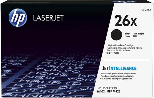 CF226XHP 26X High Yield Black Original LaserJet Toner Cartridge