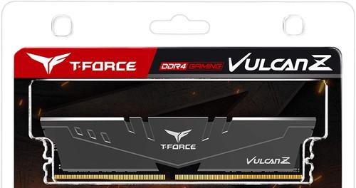 TEAMGROUP T-Force Vulcan Z 8GB 3600MHz (PC4-28800) CL18 Desktop Memory Module Ram TLZGD416G3600HC18JDC01 GRAY