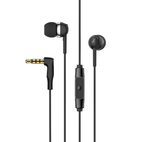 Sennheiser CX 80S in-Ear Headphones with in-line One-Button Smart Remote
