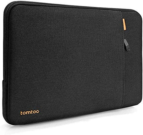tomtoc Recycled Laptop Sleeve for 12.3 Inch Microsoft Surface Pro X/7/6/5/4/3/2/1, 12.4 New Surface Laptop Go, Dell XPS 13 Laptop 2020, 360 Protective Notebook Tablet Bag Case with Accessory Pocket