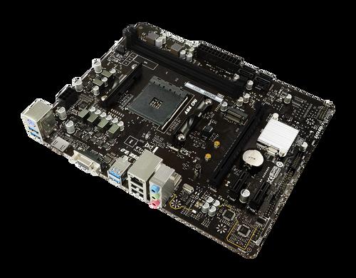 BIOSTAR B450MH VER.6.3 AM4 AMD B450 SATA 6Gb/s USB 3.1 HDMI Micro ATX AMD Motherboard - 2 Years Warranty