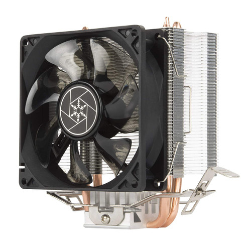 SILVERSTONE SST-KR03 CPU COOLER 92mm BLUE LED fan