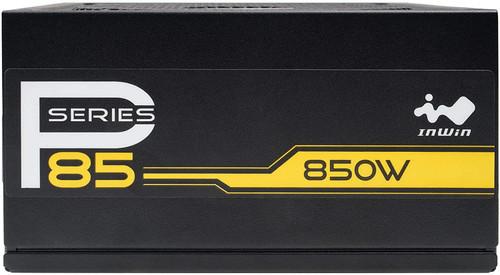 IN WIN P85 (P Series) 850 Watt Fully Modular Power Supply 80+ Gold Certified, Black