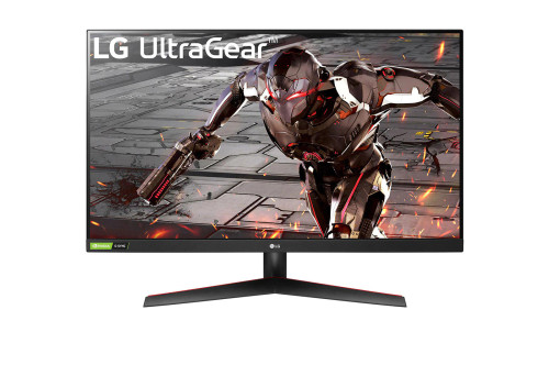 LG 31.5'' 32GN500-B UltraGear™ Full HD Gaming Monitor with 165Hz, 1ms MBR and NVIDIA® G-SYNC® Compatible