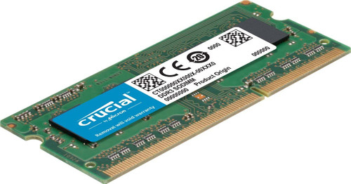 Crucial RAM 8GB DDR3 1600 MHz CL11 Laptop Memory