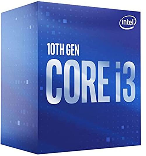 Intel Core i3-10100F / 3.6GHz / 6MB LGA1200 4 Core / 8 treads