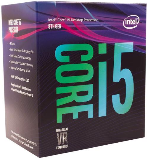 Intel Core i5 8500T 2.1GHz 9MB Cache socket LGA1151 14nm 6-Core 6 Thread CPU (Tray)