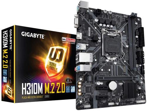 GIGABYTE H310M M.2 2.0 (LGA1151/ Intel/ H310/ Micro ATX/ DDR4/ HDMI 1.4/ M.2/ Motherboard)