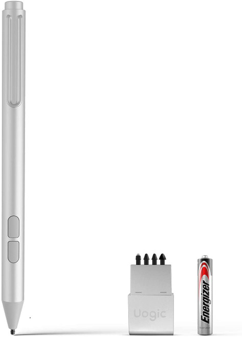 Uogic Pen for Microsoft Surface, [Upgraded] 4096 Pressure Sensitivity Palm Rejection Stylus, Compatible with Surface Pro X/7/6/5/4, Surface Laptop/Book/Go/Studio, Surface 3