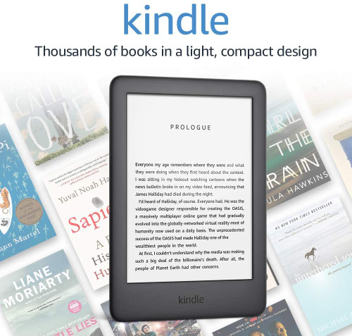 Kindle - Now with a Built-in Front Light - Ad-Supported