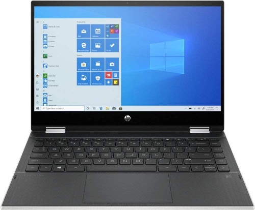 """HP Pavilion x360 2 in 1 14m-dw1013dx 14"""" Touch-Screen Laptop, Intel Core i3-1115G4, 8GB DDR4, 128GB SSD, Natural Silver"""