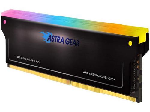 ASTRA GEAR RGB DDR4 8GB 3200MHz (PC4-25600) CL16 Desktop Gaming Memory Module Ram AHL16E6SC8G8E8G32K