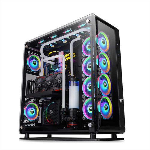 Thermaltake Core P8 Tempered Glass E-ATX Full-Tower Chassis Computer Case