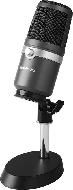 AVerMedia AM310 USB Multipurpose Microphone, for Recording, Streaming or Podcasting
