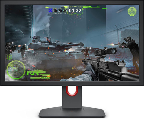 BenQ Zowie XL2411K 24 Inch 144Hz Gaming Monitor | 1080P | Smaller Base | Ergonomic Stand | XL Setting to Share | Customizable Quick Menu | DyAc | 120Hz Compatible for PS5 and Xbox series X