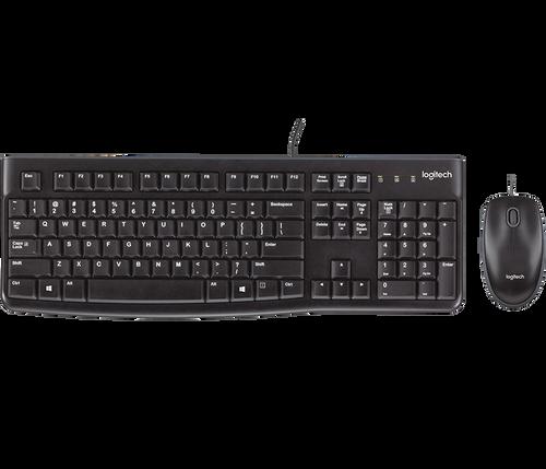 Logitech MK 120 Desktop Mouse and Keyboard