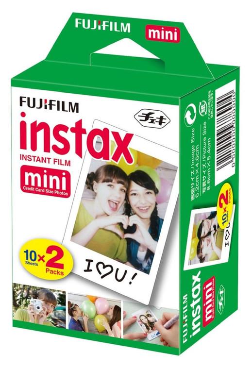 Fujifilm Instax Mini Instant Film, 10 Sheets