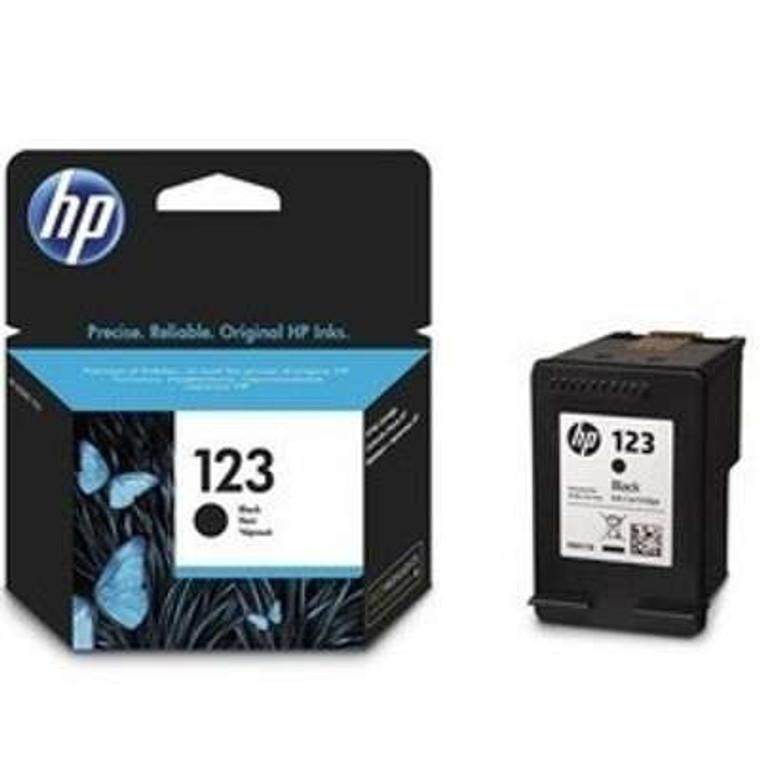 HP 123 Black Original Deskjet Ink Cartridge