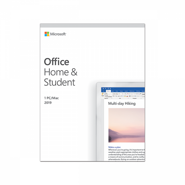 Microsoft Office Home and Student 2019 All Language (PC & Mac)