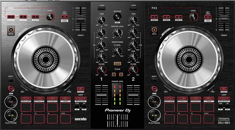 Pioneer DJ - DJ Controller, Black, (DDJSB3)