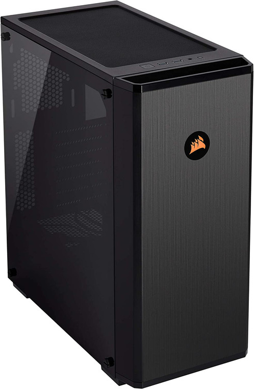CORSAIR Carbide Series 175R RGB Tempered Glass Mid-Tower ATX Gaming Case Black
