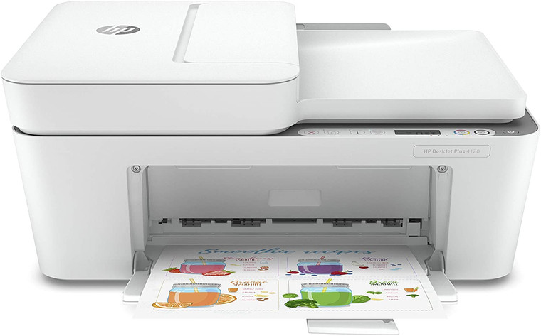 HP DeskJet Plus 4120 All-in-One Printer with Wireless Printing