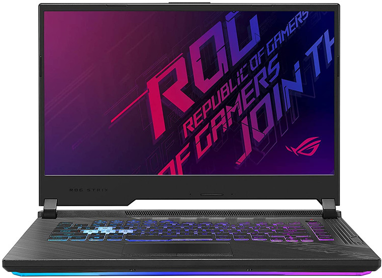 "ASUS ROG Strix G15 (2020) Gaming Laptop, 15.6"" 240Hz FHD IPS Type Display, NVIDIA GeForce RTX 2070, Intel Core i7-10750H, 16GB DDR4, 1TB PCIe NVMe SSD, RGB Keyboard, Windows 10, Black, G512LW-ES76"