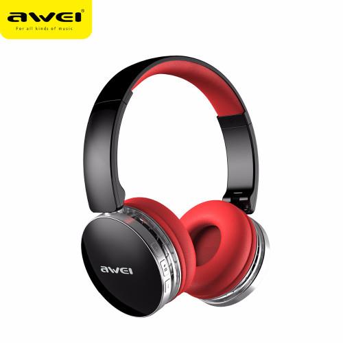 Awei A500BL foldable hi-fi stereo wireless headphones bluetooth headset  with noise reduction extra bass ... e9c172ea55e5